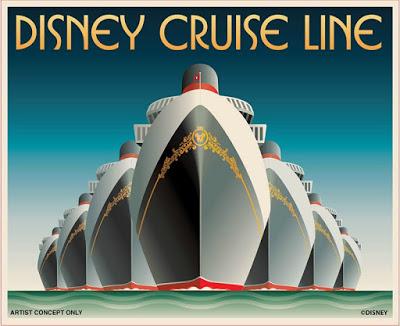 Disney Cruise Line – 3 novos navios