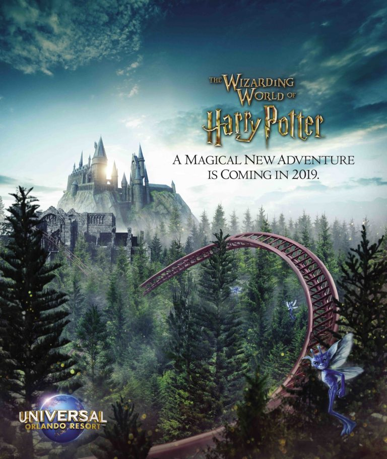 Novidade sobre a nova montanha russa do Harry Potter