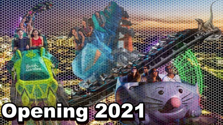 Veja as novas atrações dos parques de Orlando em 2021.